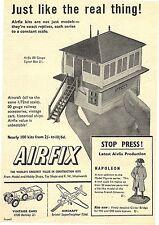 Airfix 1/72 scale Bristol superfrighter & 1930 BENTLEY PUB-Original 1960