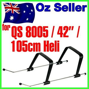 """Landing Skid Gear QS 8005 42"""" 105cm BIG Helicopter Undercarriage Tripod GT 13"""
