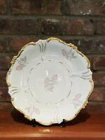 Alka Kunst porcelain platter - Rosebuds, Vintage, Bavarian
