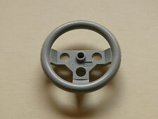 Lego 1 volant gris clair set 8880 / old light grey Steering wheel large