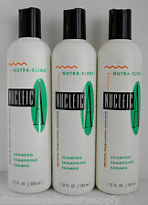 Nucleic-A Nutra-Clenz Shampoo 12oz (3 pack) Daily Shampoo - Gentle Shampoo