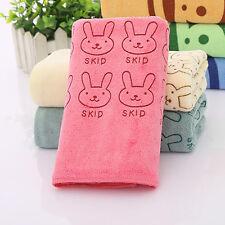 Cute Rabbit Baby Infant Newborn Soft Bath Towel Washcloth Feeding Wipe Cloth New