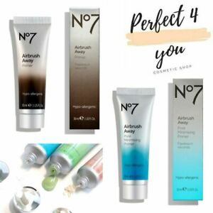 No7 Airbrush Away Primers before Foundation ALL Skin Types Pore minimising NEW!