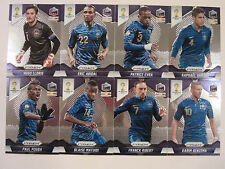 2014 Panini Prizm FIFA World Cup Soccer   Complete Base Set of Team France