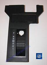 84-86 Camaro Berlinetta Black Automatic Shift Trim Panel  NOS NEW GM ORIGINAL