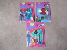 Lot Of 3 Mattel Ken Fashions Active Wear 1989 - 1990 - 1991 NEW In Package
