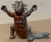 Dinosaur Monster figure plastic vintage 1970s Hong Kong Prehistoric Animal Space