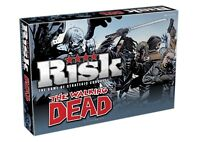 OFFICIAL THE WALKING DEAD RISK TRADITIONAL FAMILY BOARD GAME NEW AND BOXED