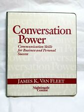 Conversation Power Communication Skills For Success 6 Cassettes & 1 Guide Book