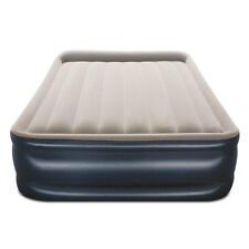 Bestway Tritech Inflatable 18 Inch Air Mattress with Built In AC Pump, Queen