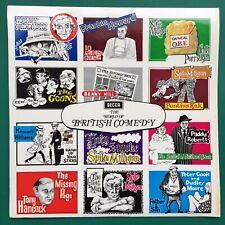 Decca WORLD OF BRITISH COMEDY LP Goons Marty Feldman Spike Milligan Peter Cook