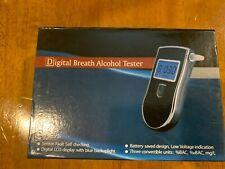 Alcohol Breathalyzer, Digital Lcd Screen Portable Breath Tester