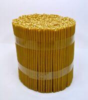50 St Bienen Wachs Kerzen geweiht восковые свечи медовые освященные 21 cm