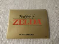 Legend of Zelda,The Original Nintendo NES Manual