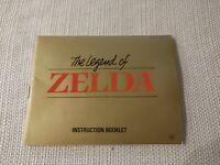 Legend of Zelda,The Original Nintendo NES Manual