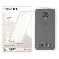 Tech21 Evo Check Ultra Slim Drop Protection Clear Case - Motorola Moto Z2 Force