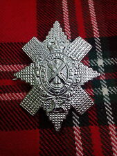 New Highland Glengarry Cap/Hat Badge Chrome Finish/British Military Army Badges