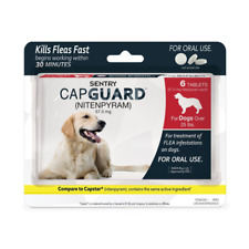 Sentry Capguard Oral Flea Control Medication for Dogs over 25lbs 6 tablets