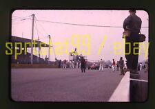 1963 Usac Trenton 100 - Pre-Race Scene - Vintage 35mm Race Slide