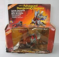 Advanced Dungeons and Dragons AD&D LJN Good Destrier FRENCH BOX DONGEONS MIB dom
