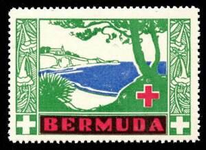 Bermuda - Red Cross Seal - 1941 Seashore - MNH Single