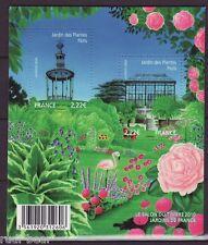 Frankreich Block 109 **  Tag der Briefmarke  Paris  Französische Gärten