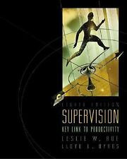 Supervision: Key Link to Productivity with Management Skill Booster Pa-ExLibrary
