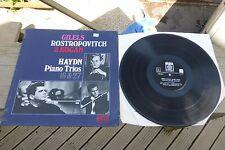 Haydn Piano Trios Kogan Rostropovitch Gilels SAGA ED1 Stereo XID 5311 Rare UK LP