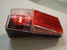 luci led posteriore luce batteria bici bicicletta attacco parafango universale