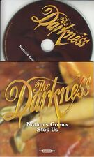THE DARKNESS Nothin's Gonna Stop Us 2012 UK 2-track promo only CD