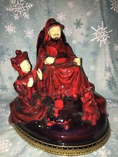 Royal Doulton artist figurine Kublai Khan Peggy Davies Ceramics not Doulton MINT