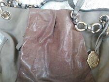 VINCE CAMUTO CAMEL BROWN  Leather Convertible Crossbody Hobo Shoulder Bag