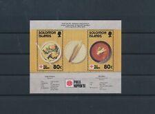 LM83190 Solomon Islands 1991 philatelic exhibition good sheet MNH