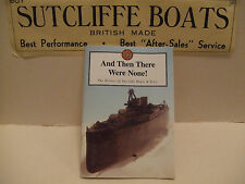 THE HISTORY OF SUTCLIFFE TINPLATE CLOCKWORK BOATS AND SUBMARINES BOOK.