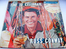 Russ Conway Time To Celebrate EP I'm Just Wild / It's A Long Way To Tipperary 7""