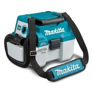 Makita DVC750LZX1 18V Li-Ion Cordless Brushless Wet/Dry Dust Extractor