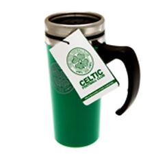 CELTIC FC ALUMINIUM TRAVEL JOURNEY COFFEE TEA MUG SOUVENIRS NEW XMAS GIFT