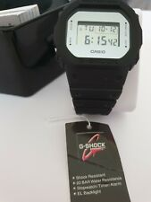 CASIO G SHOCK WATCH DW-5600BBMA-1ER MIRROR SQUARE FACE SILVER NEW