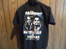 Mayweather vs Maidana shirt May 3 2014 Las Vegas medium black short sleeve