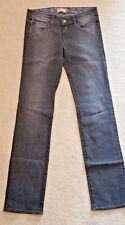 "Paige Premium Denim ""Melrose"" Women's Distressed Straight Jeans - 28 - Gray"