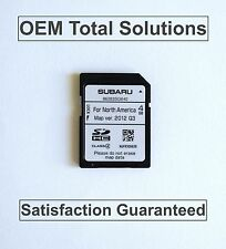 UPDATE 2015 Subaru Forester Genuine OEM Navigation SD CARD Map Data US #SG640