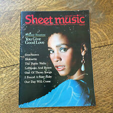 Sheet Music Magazine 1987 Back Issues Lot of 3 Piano Guitar Tablature Vintage