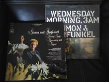 Lot of 2 simon garfunkel wednesday morning, 3am, Parsley Sage and Rosemary