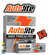 Autolite HT1 Platinum High Thread Spark Plug - Set of 4