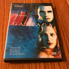 Gattaca Dvd With Ethan Hawke And Uma Thurman Used In Good Shape No Scratches