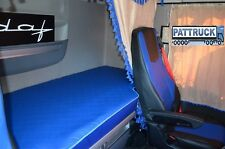 FITS DAF XF 106 TRUCK ECO LEATHER BED COVER-BLUE  Lorries / Trucks Accessories