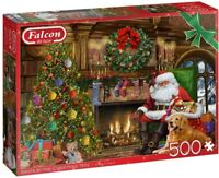 NEW! Falcon de luxe Santa by the Christmas Tree 500 piece jigsaw puzzle