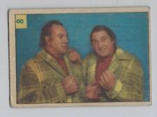 1955 PARKHURST # 8 THE MILLS BROTHERS WRESTLING NICE CARD