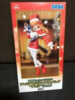 2019 SEGA Evangelion Asuka Langley Premium Christmas Figure Ver 1.5 Kawaii Japan