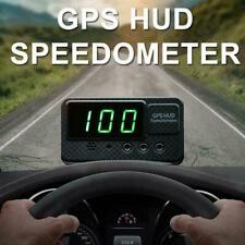 Digitaler GPS-Tachometer Geschwindigkeitsanzeige KM/h MPH auto Head-up-Disp E6A2